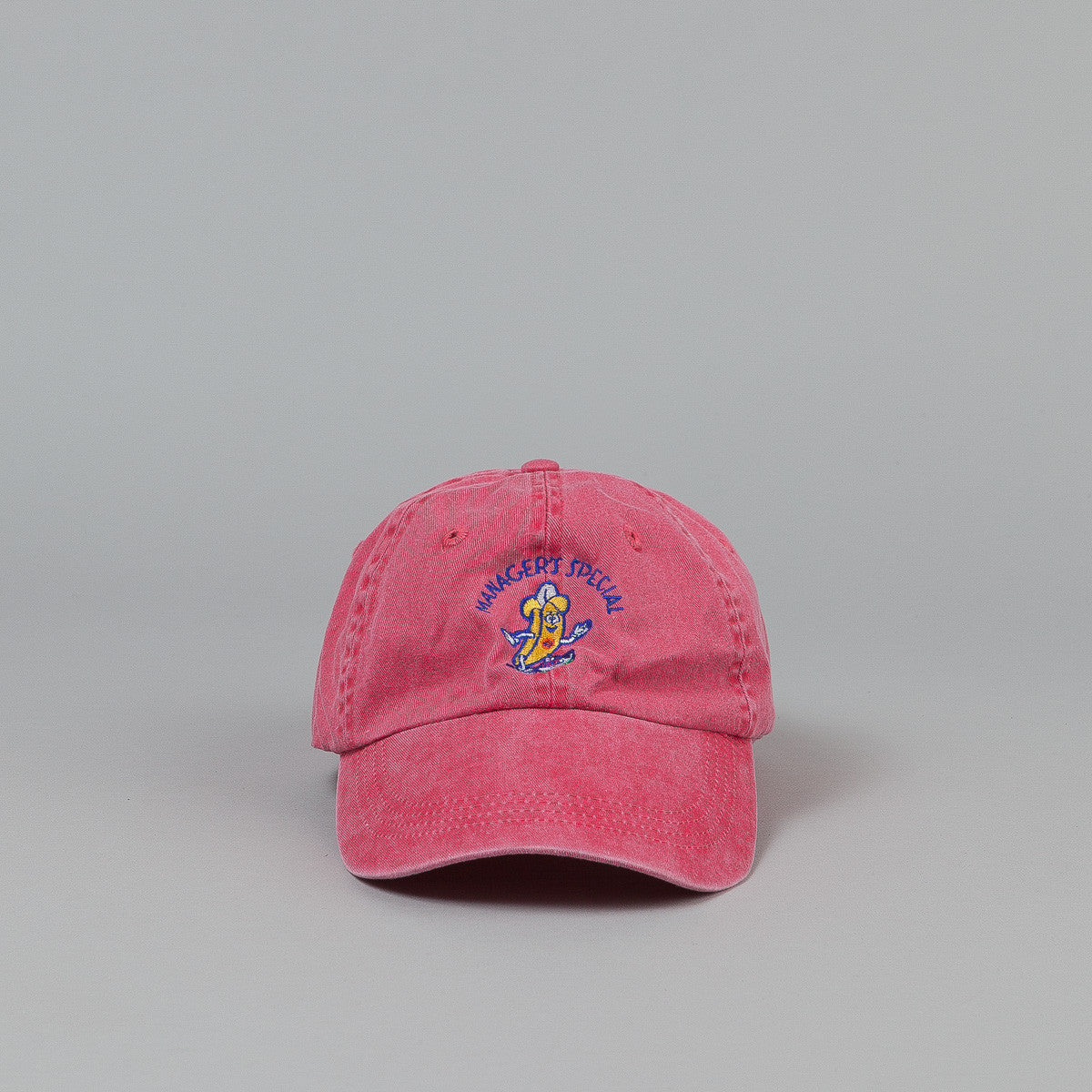 Manager's Special Bobby The Banana Dad Cap - Raspberry
