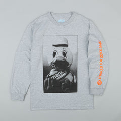 Managers Special Manco Duck Long Sleeve T-Shirt - Grey