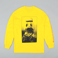 Managers Special Manco Duck Long Sleeve T-Shirt - Yellow