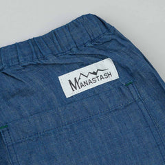 Manastash Denim B2B Sweatpants - Light Blue