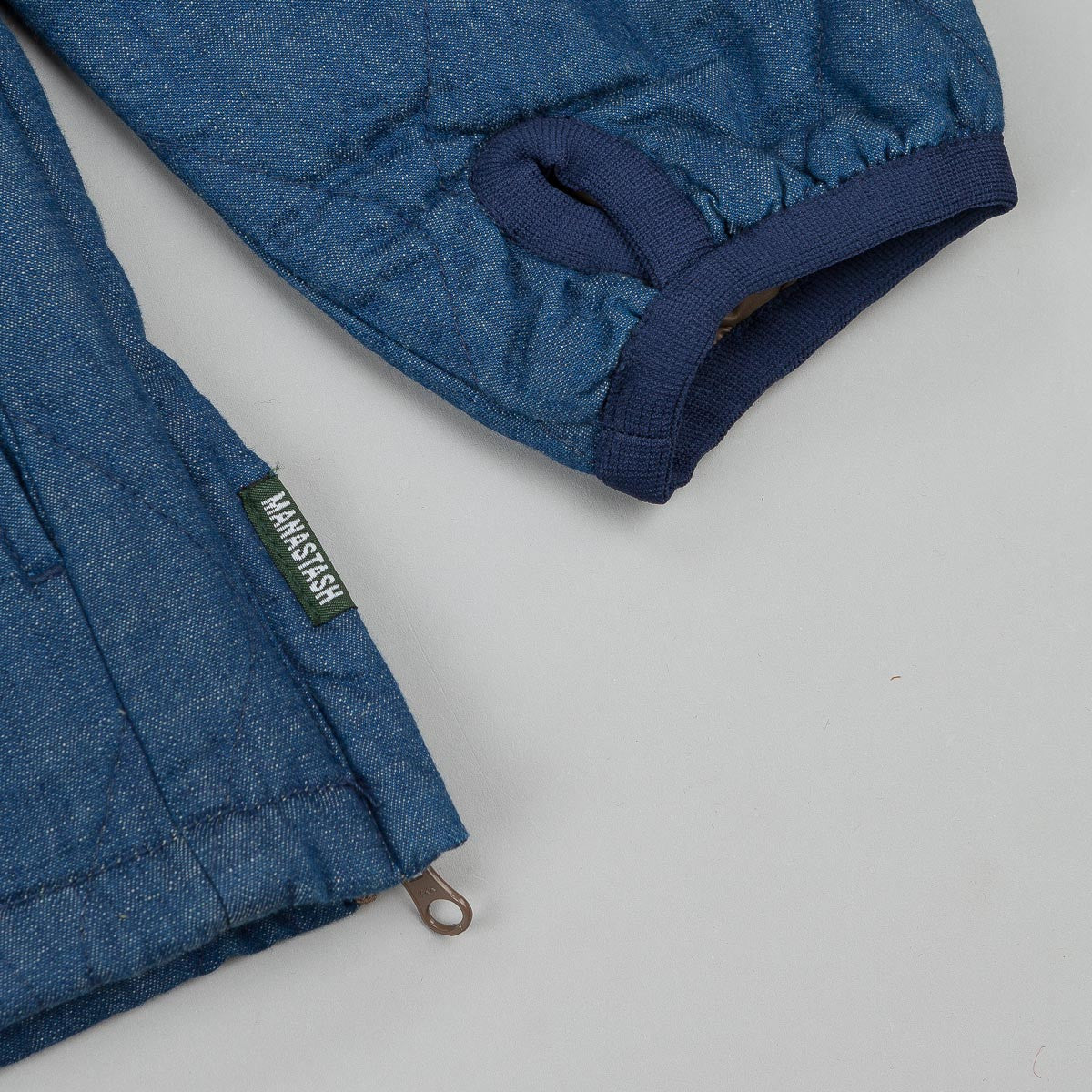 Manastash Thermolite® Camp Layer Jacket - Indigo