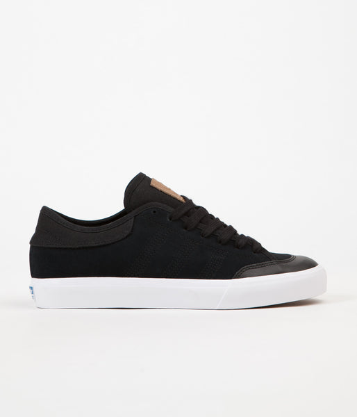 Adidas Matchcourt RX2 Shoes - Core Black / Cardboard / White