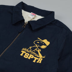 TSPTR  Fall Coach Jacket Snoopy Navy