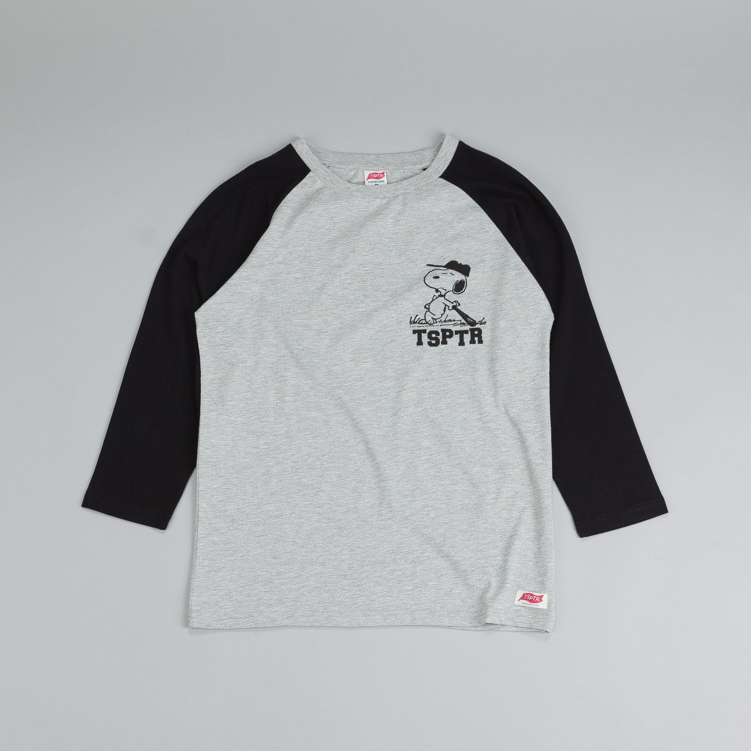 TSPTR Snoopy Raglan T Shirt Black / Grey