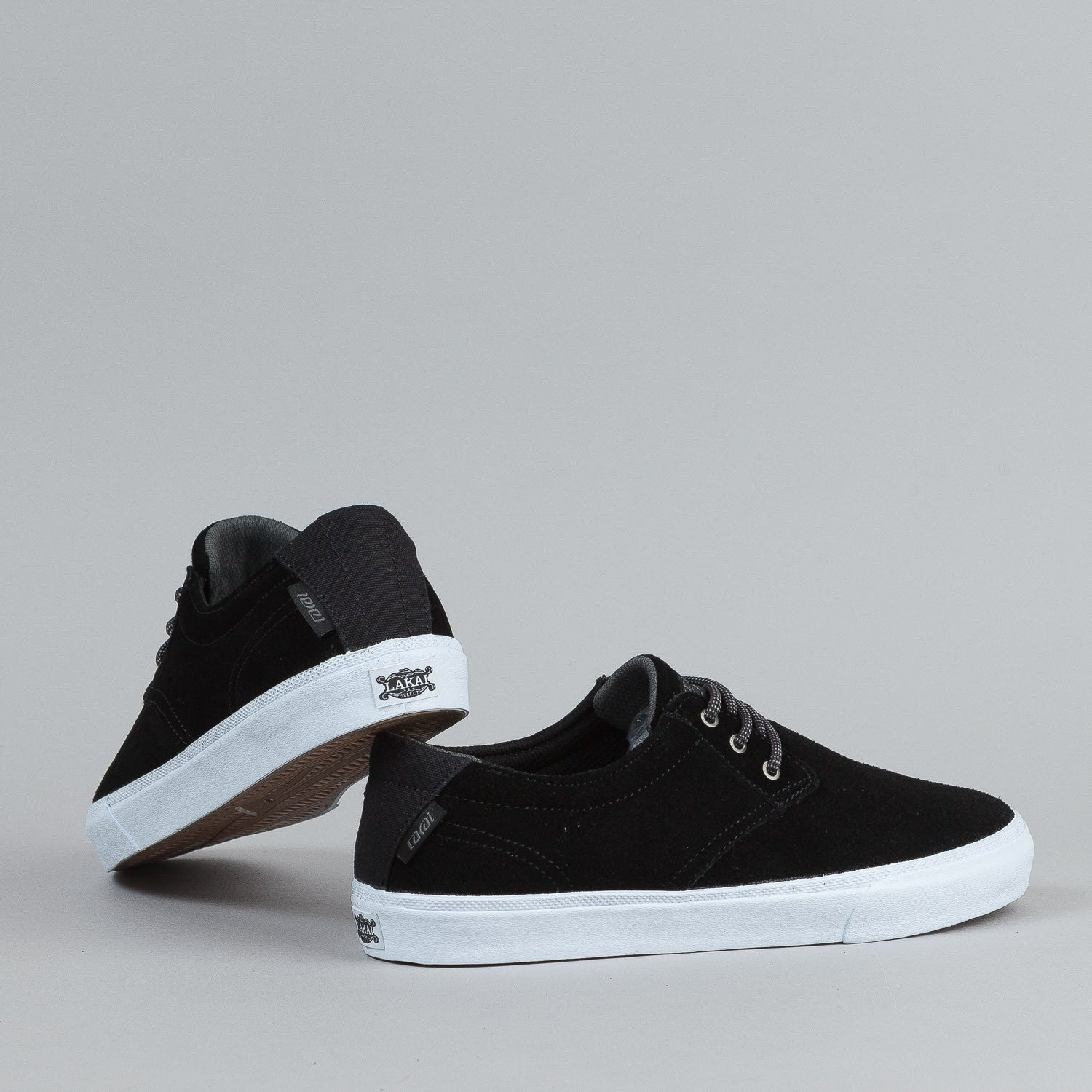Lakai MJ Black Suede