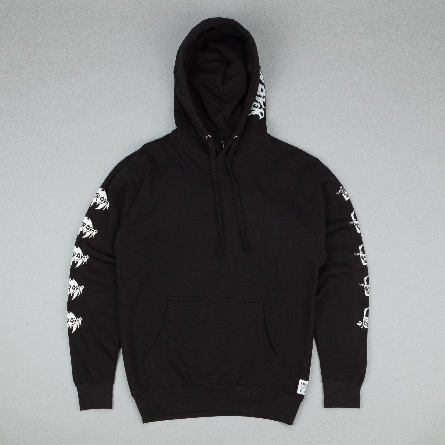 MN07 Dead Plant Hooded Sweatshirt - Black