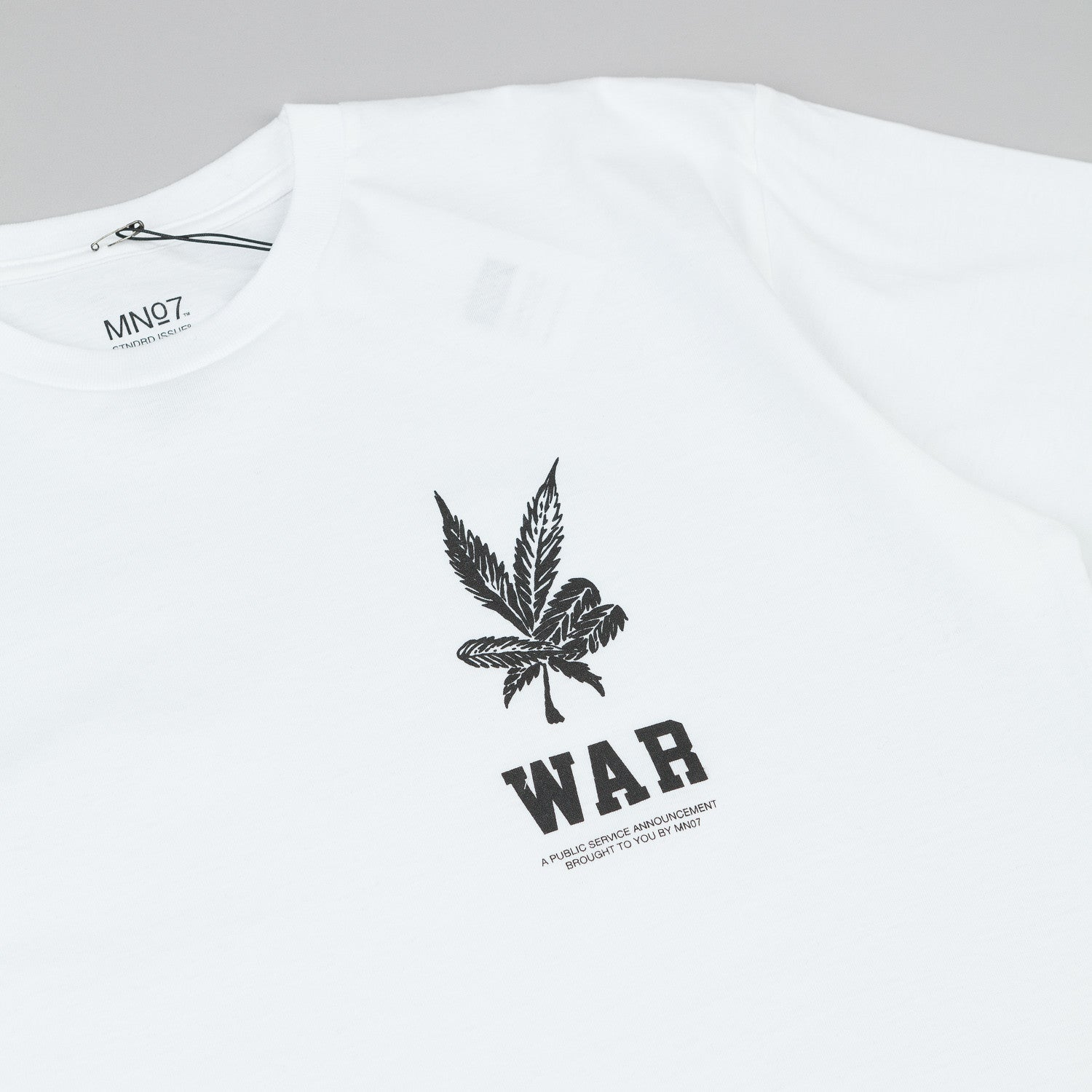 MN07 Drug War T-Shirt - White