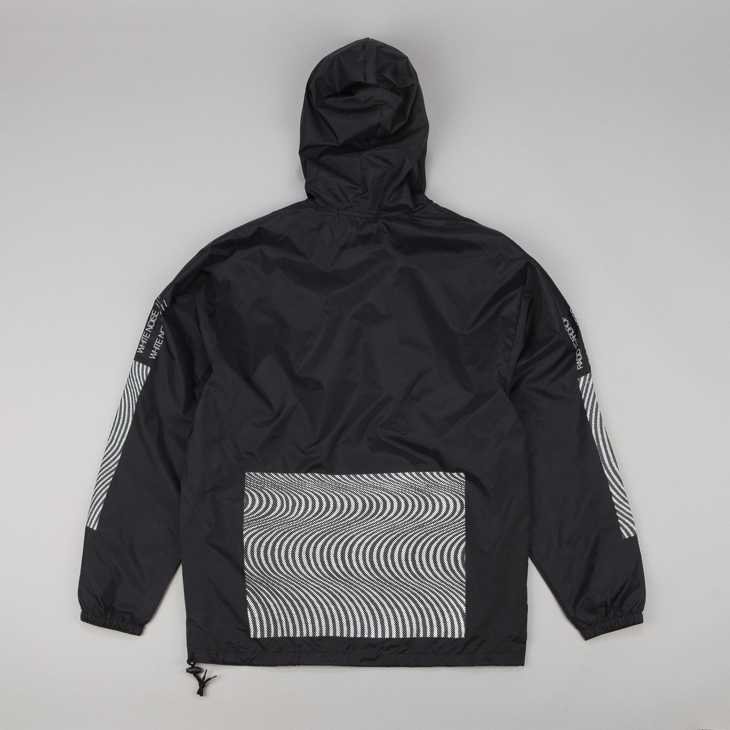 MN07 Radio Tear Drop Packable Jacket - Black