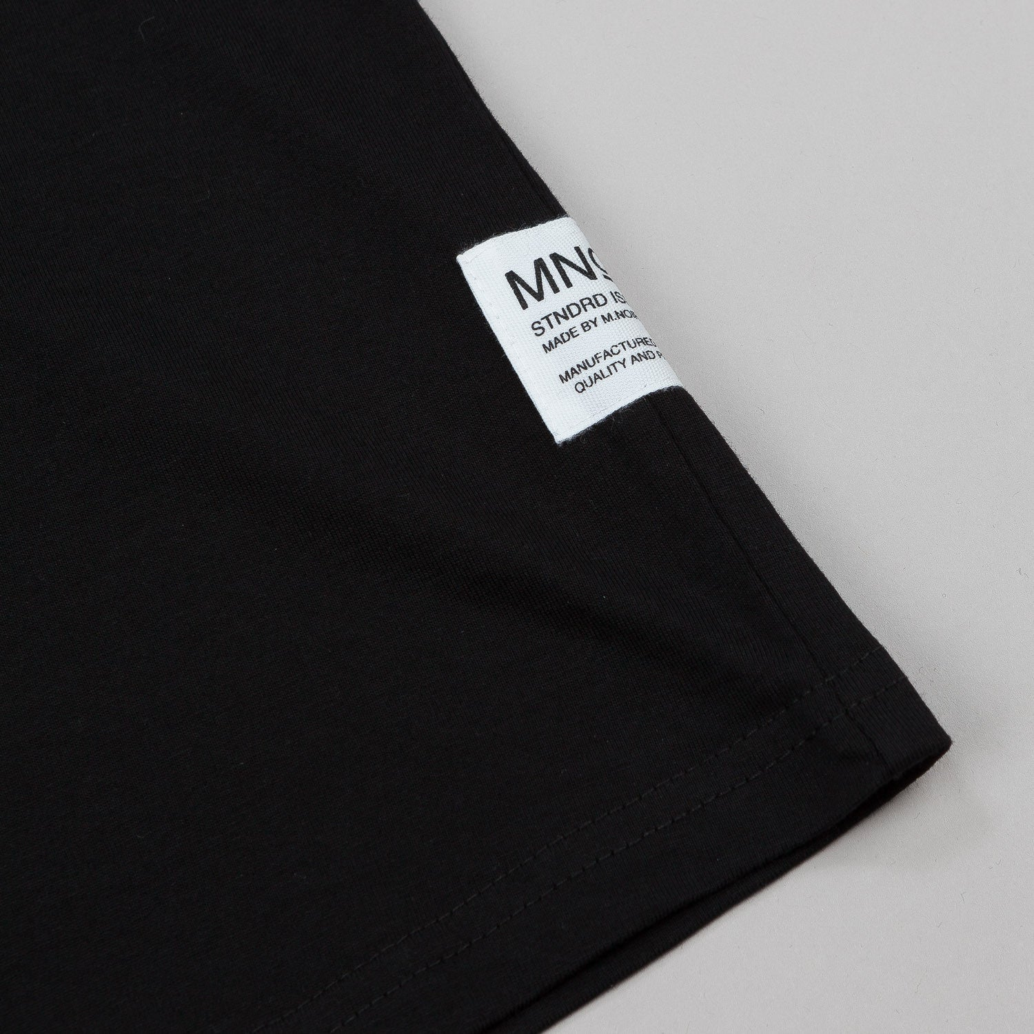 MN07 Radio Tear Drop T-Shirt - Black