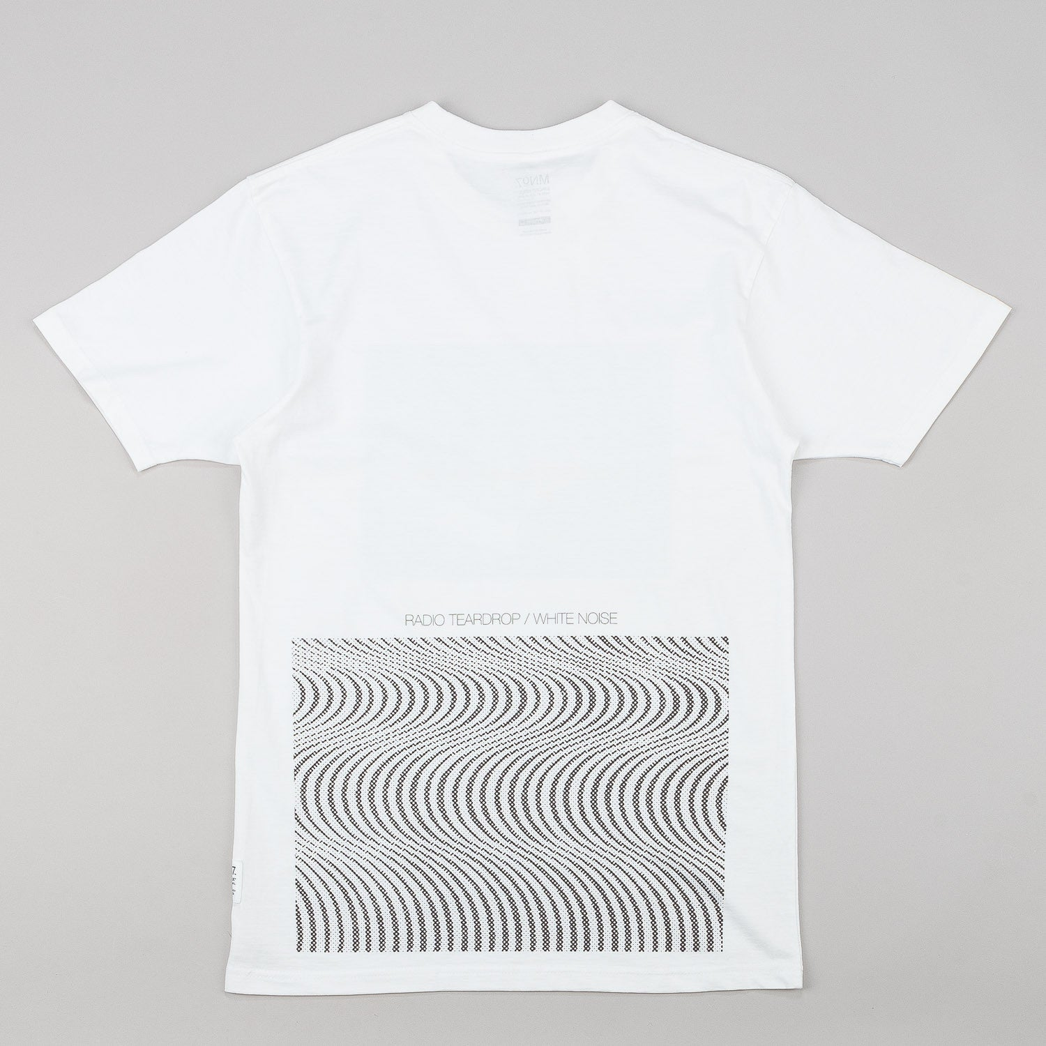MN07 Radio Tear Drop T-Shirt - White