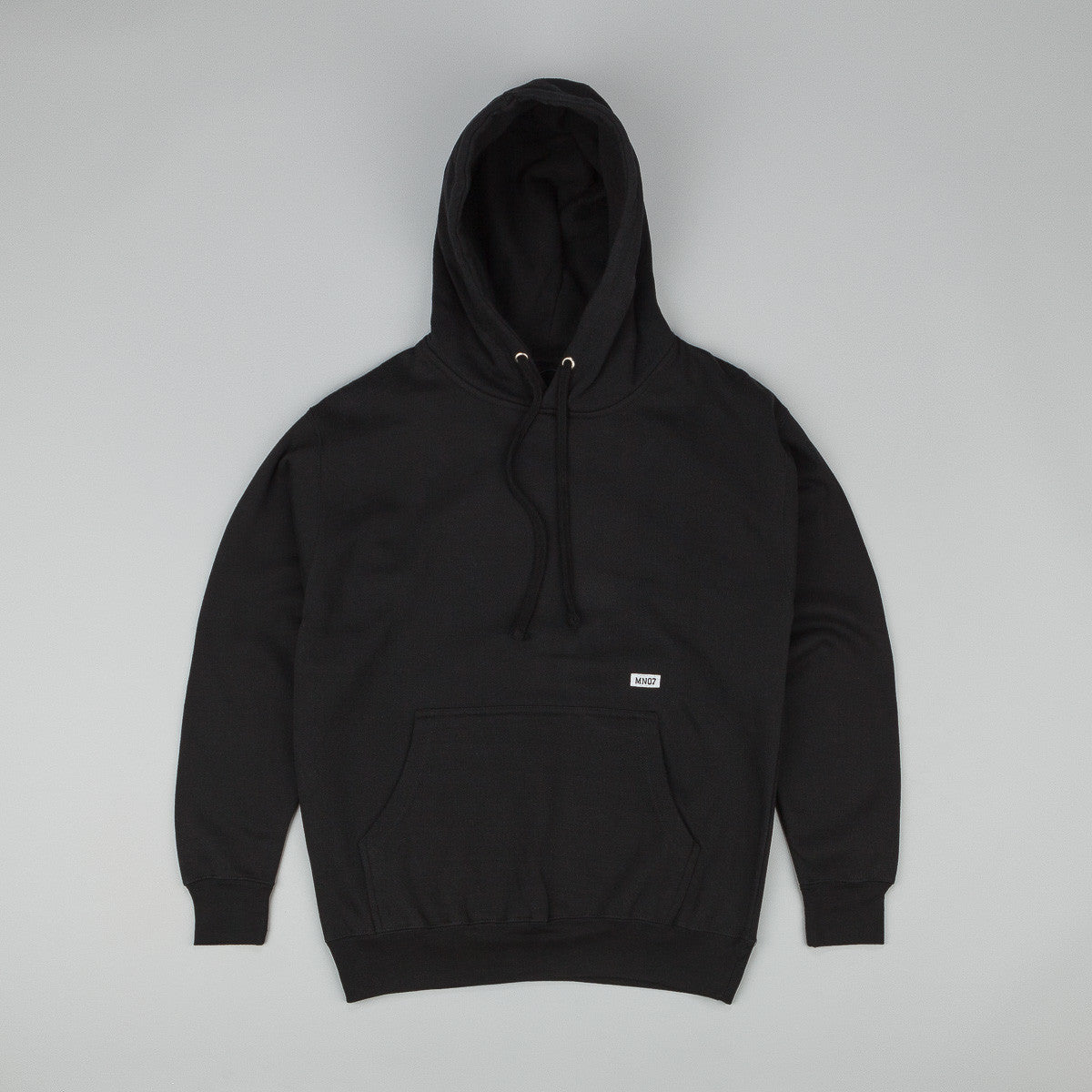 MN07 Stock Hooded Sweatshirt - Black