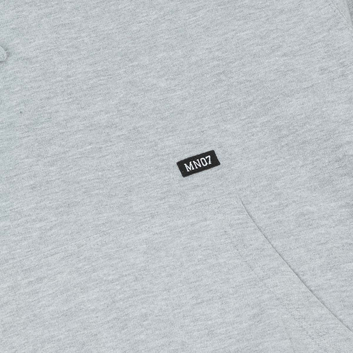 MN07 Stock Hooded Sweatshirt - Grey Heather