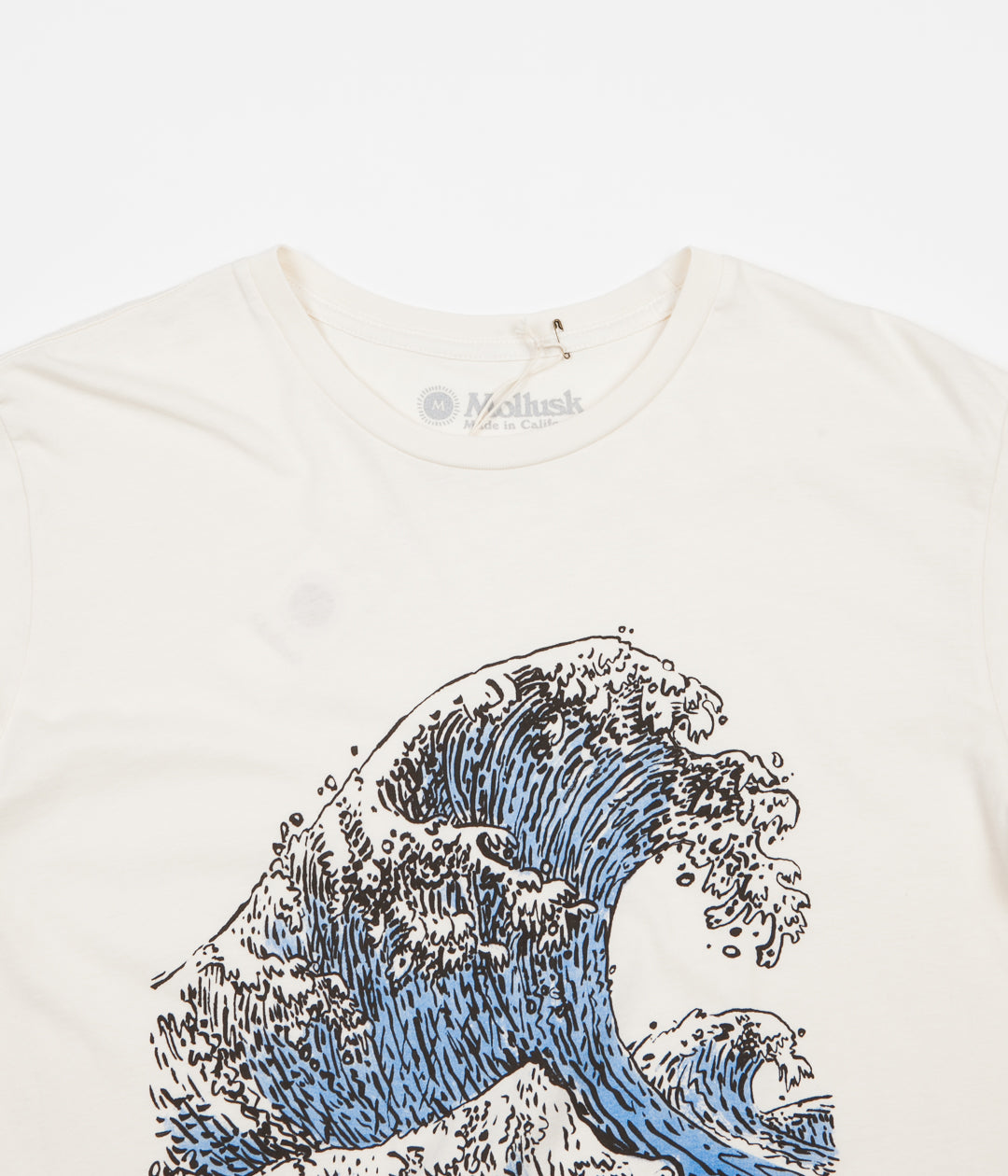Mollusk Beach Break T-Shirt - Natural
