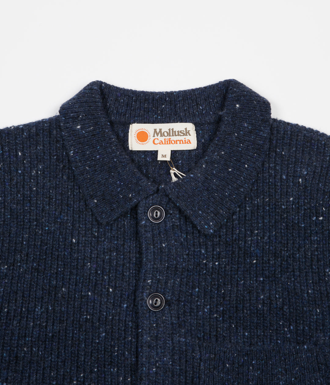 Mollusk Cheever Sweater - Faded Navy