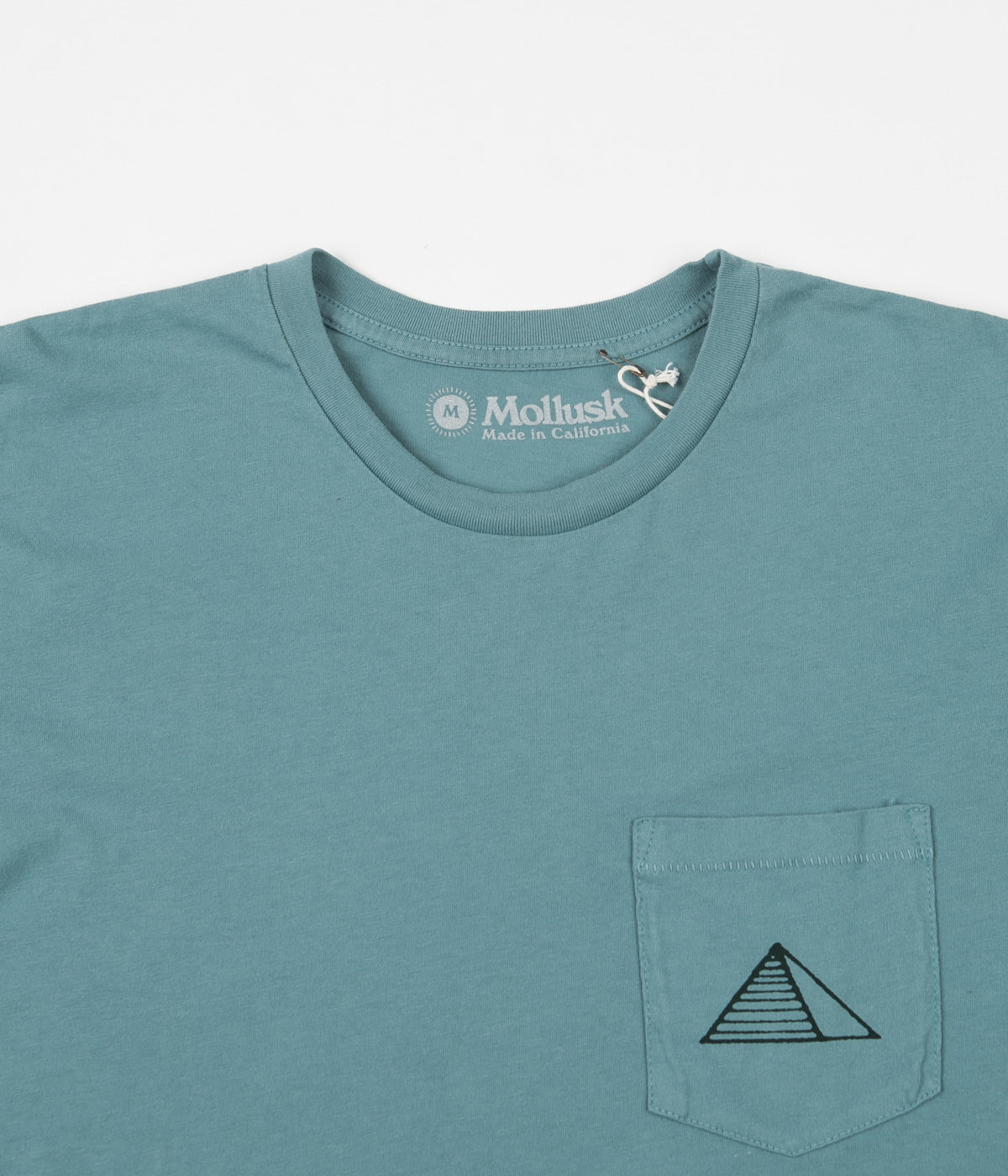 Mollusk Nil T-Shirt - Washed Sapphire
