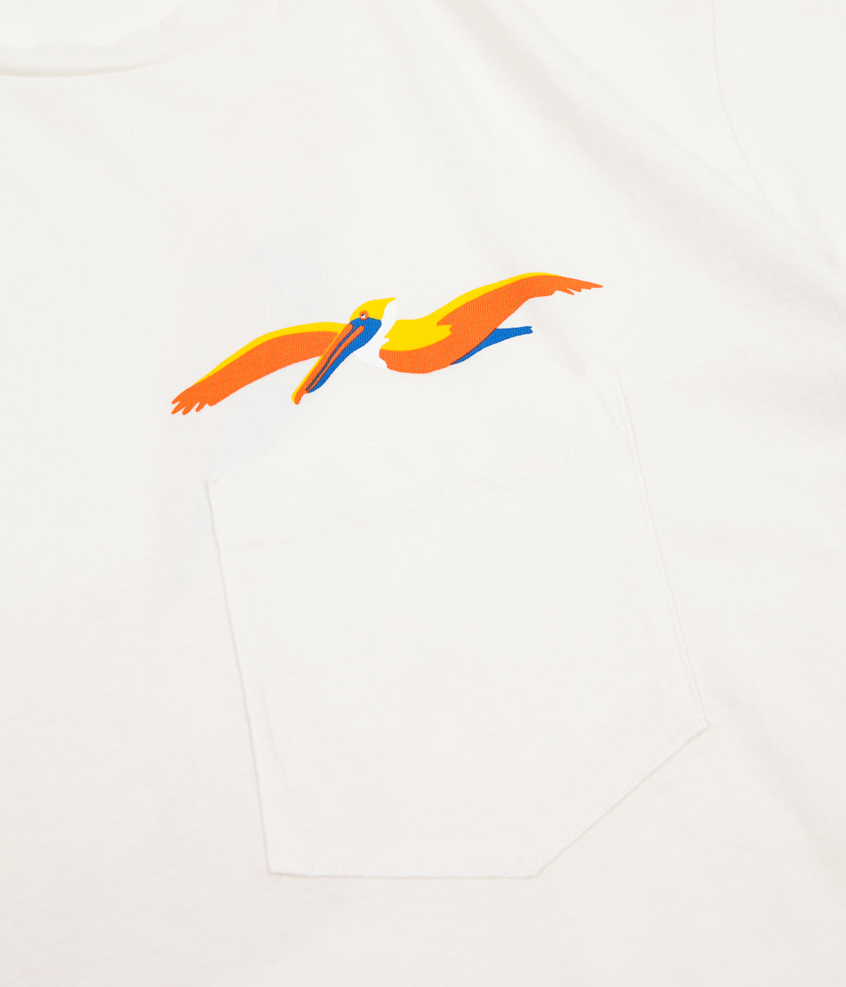 Mollusk Pelican Pocket T-Shirt - Natural