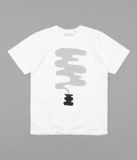 Mollusk Smoke Pot T-Shirt - White