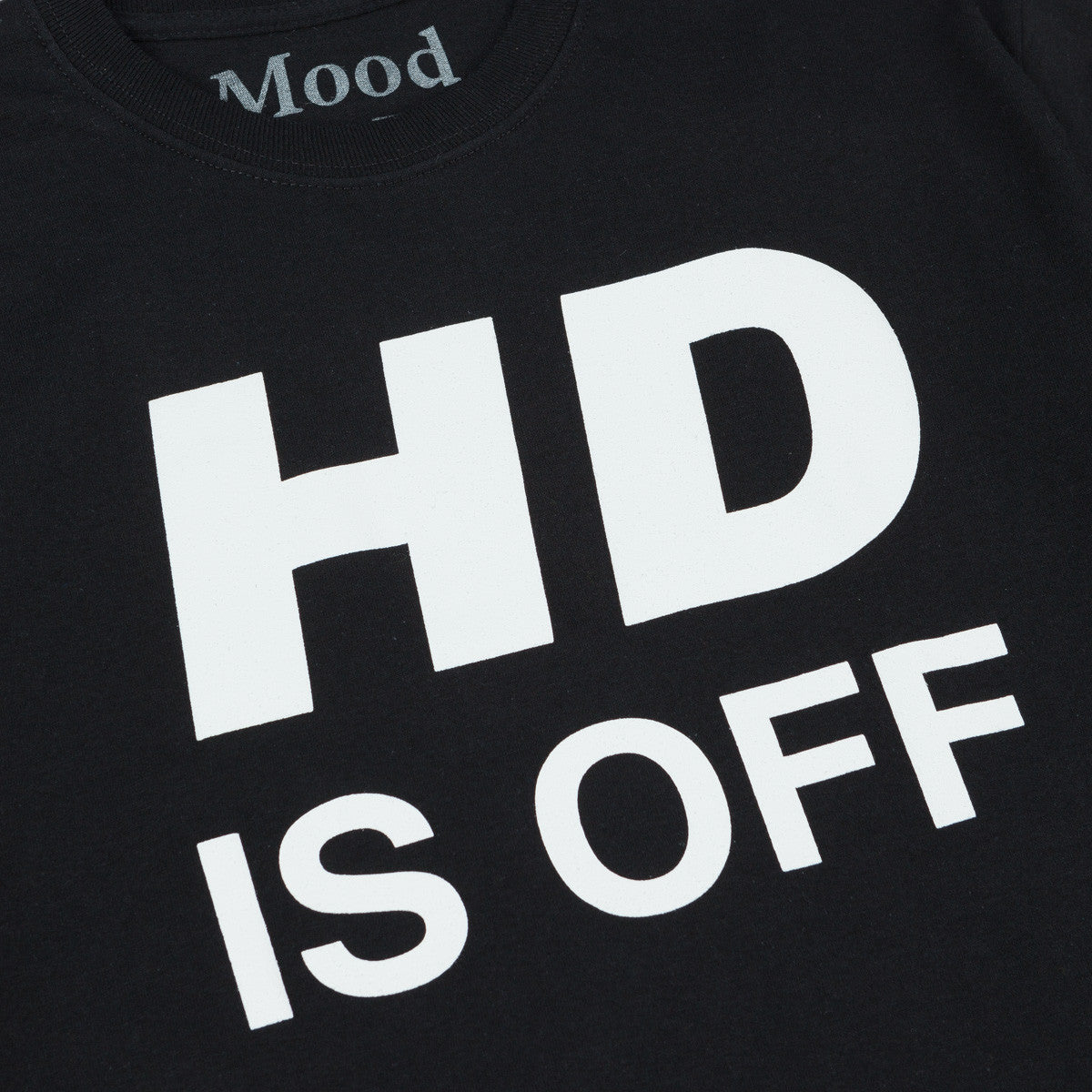 Mood NYC HD is OFF Long Sleeve T-Shirt - Black