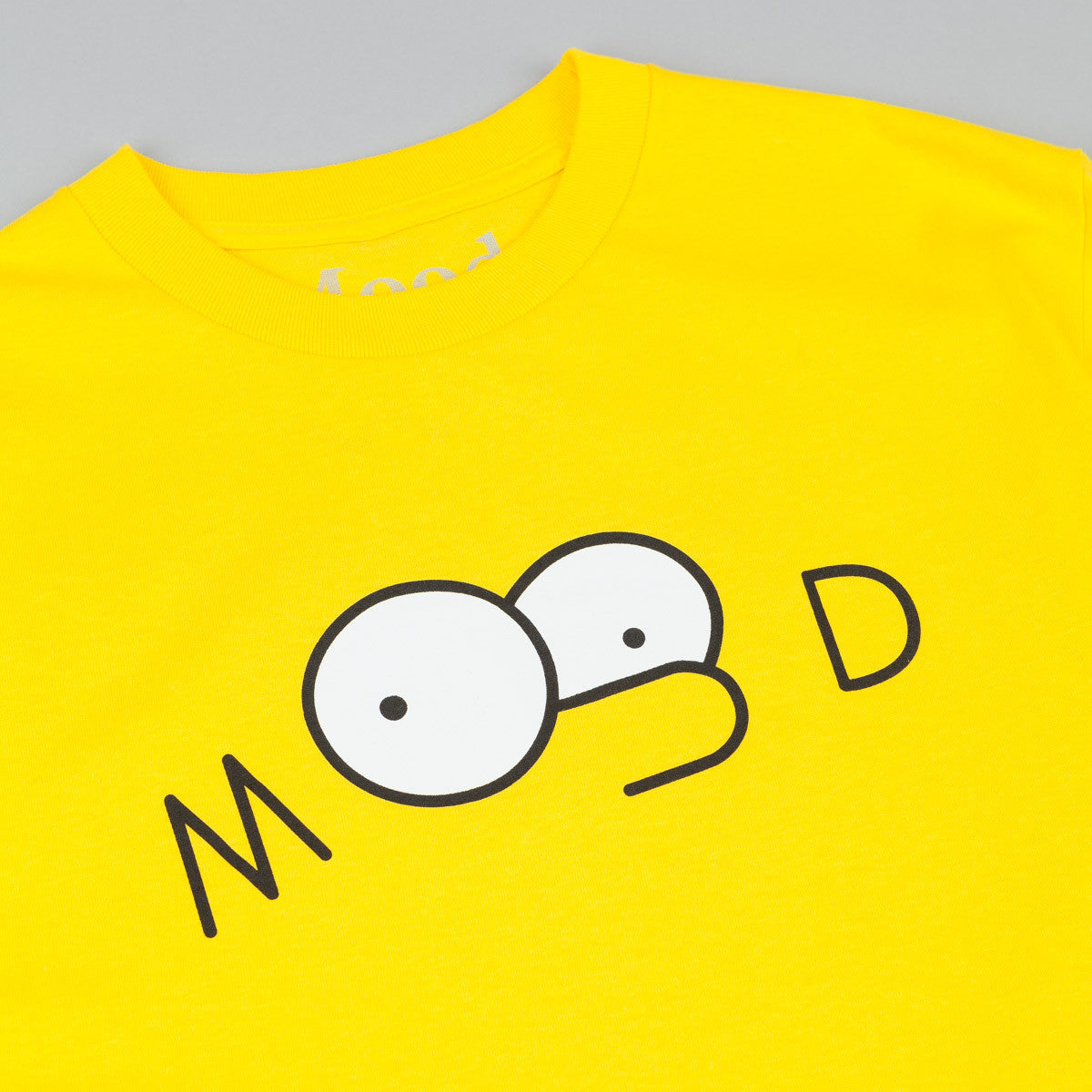 Mood NYC Springfield T-Shirt - Yellow