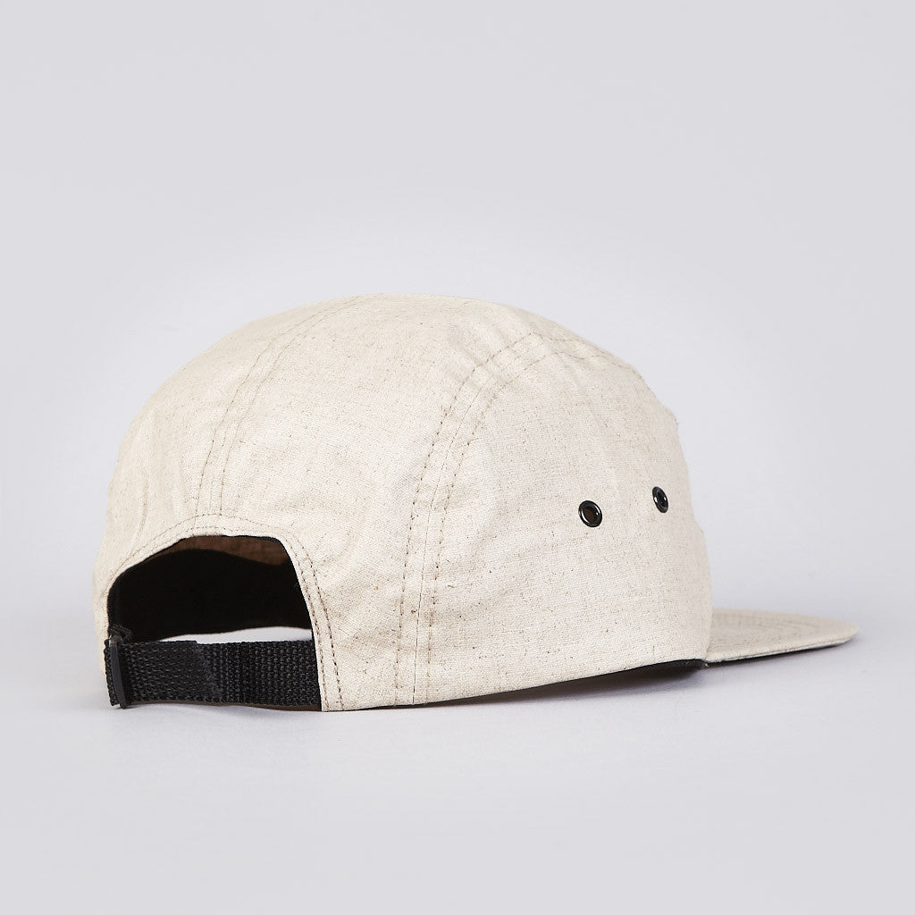 Muttonhead Coated Linen Camp Cap