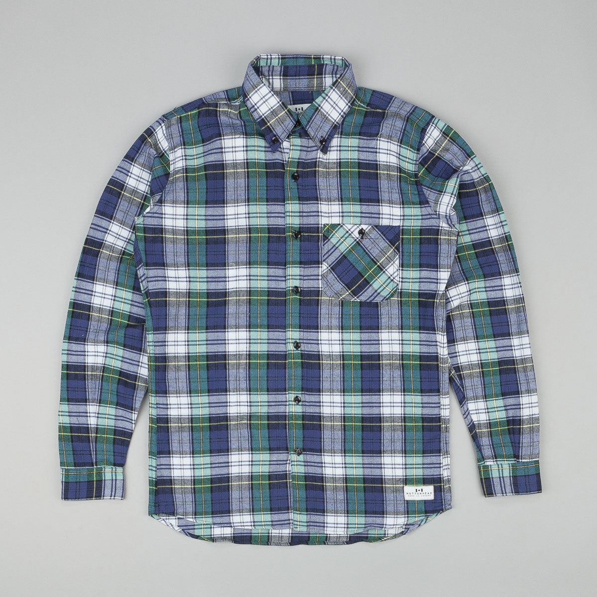 Muttonhead Backwoods Plaid Shirt