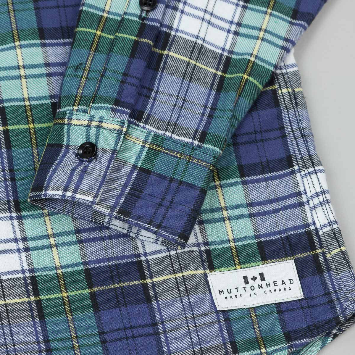 Muttonhead Backwoods Plaid Shirt - Scottish Tartan