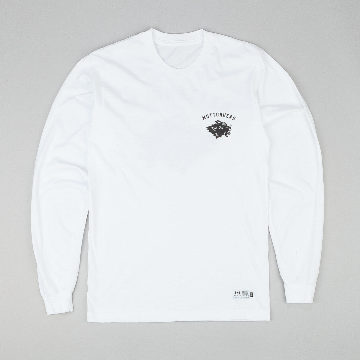 Muttonhead Stray Mutt T-Shirt - White