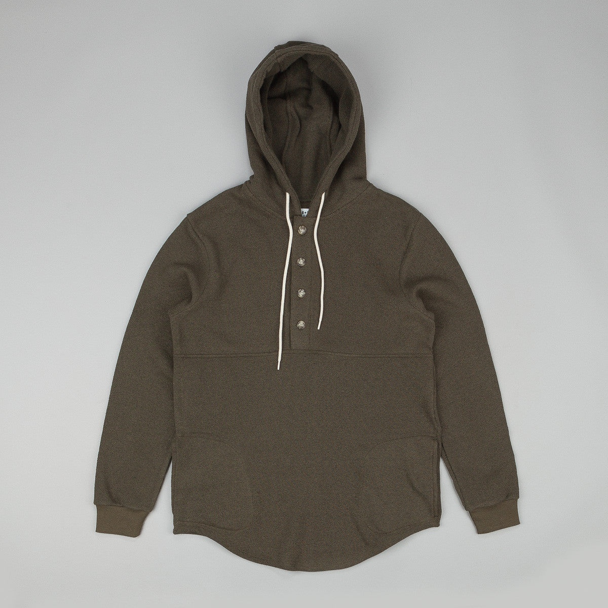 Muttonhead Thermal Camping Hooded Sweatshirt
