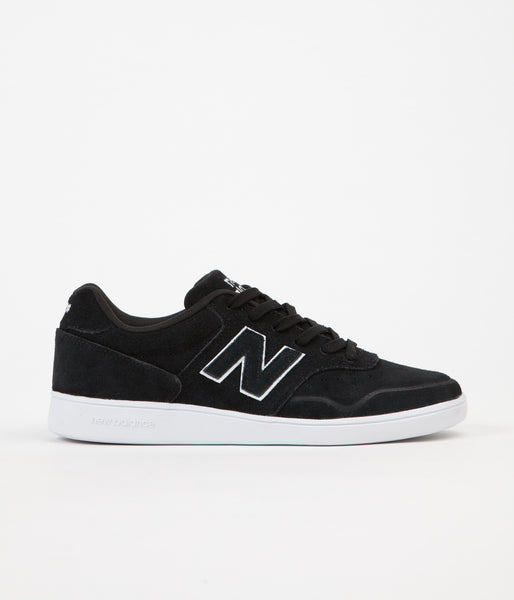 New Balance 288 Suede Shoes - Black / White