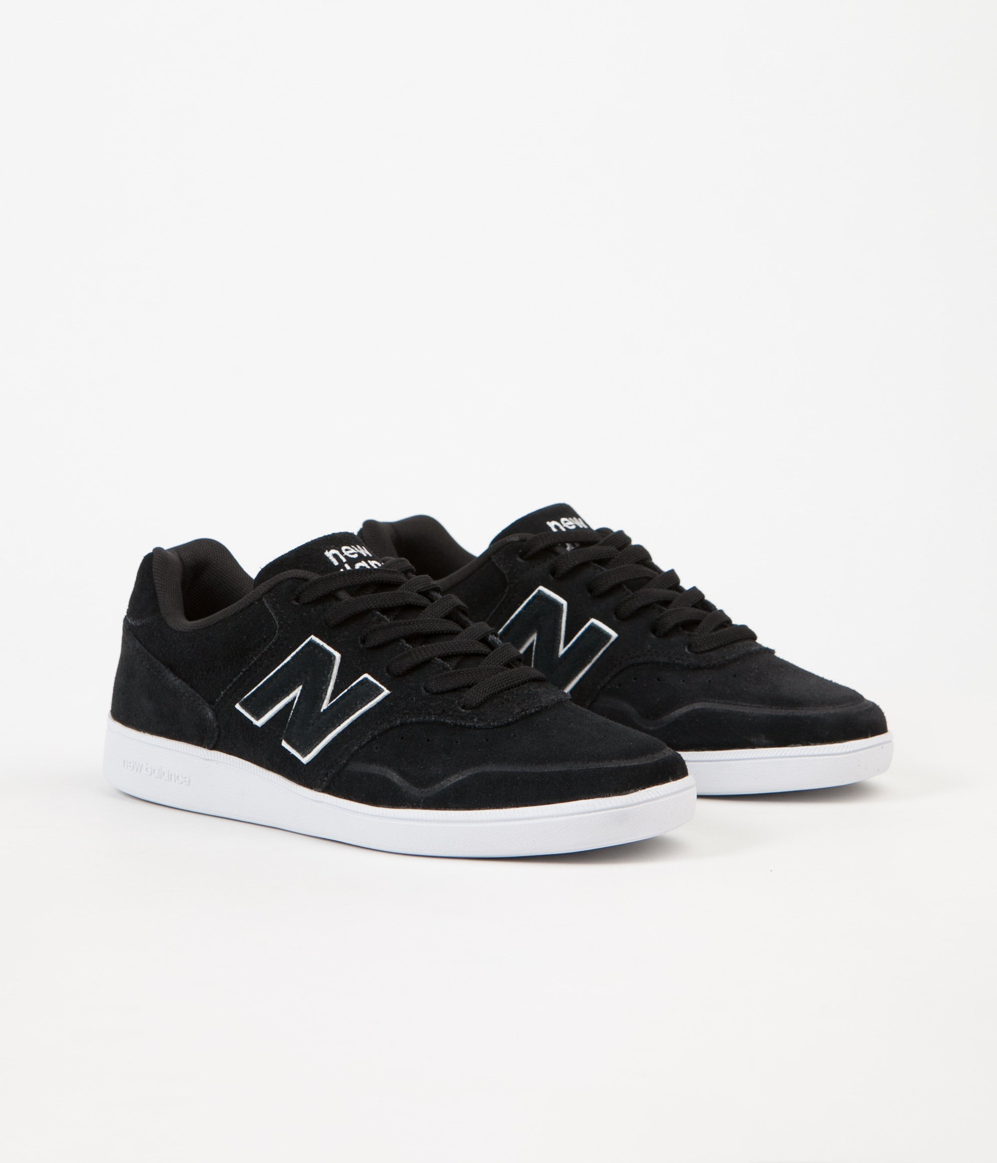 New Balance 288 Suede Shoes - Black / White | Flatspot
