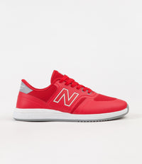 New Balance Numeric 420 Shoes - Red / White