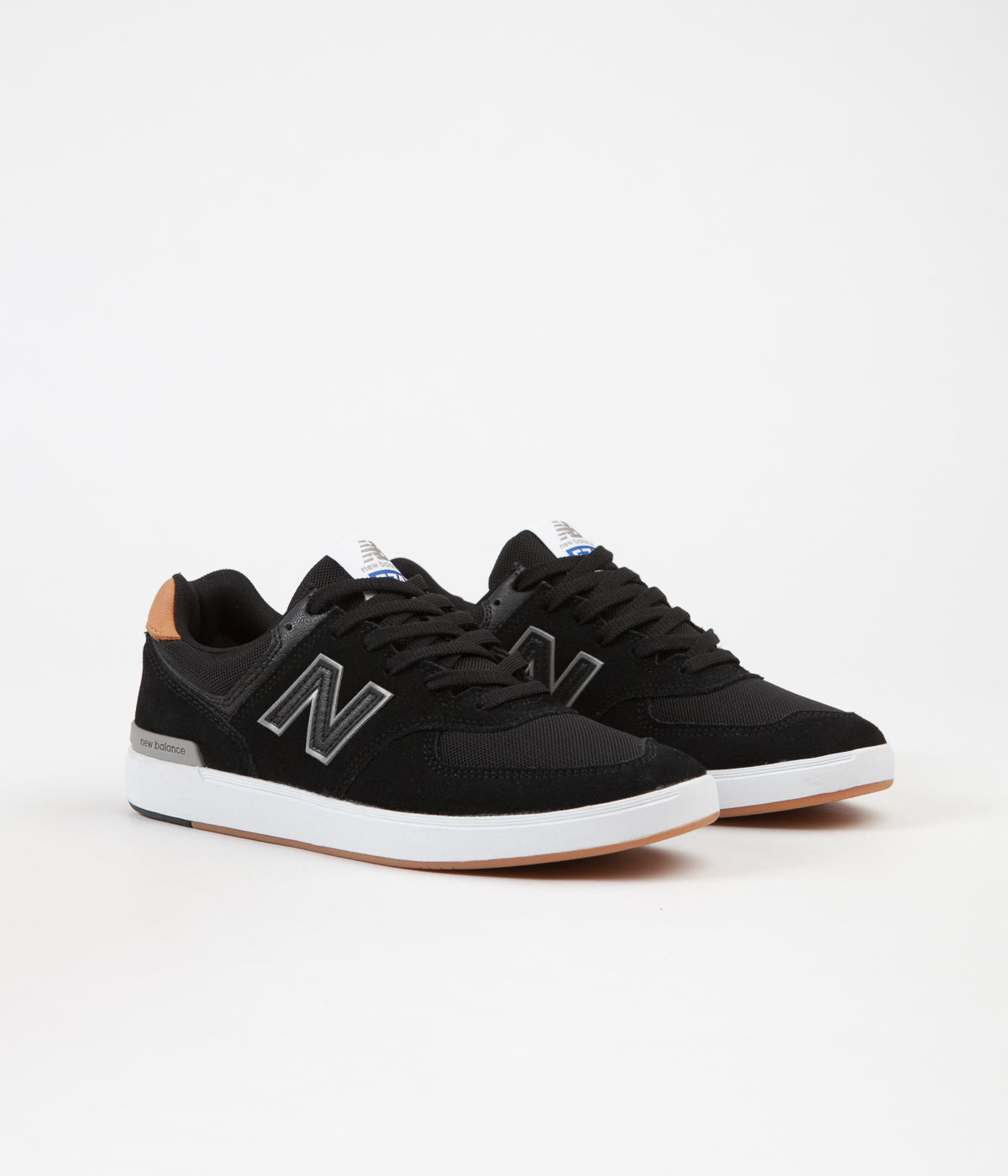 wholesale dealer 270bf 4eeed New Balance All Coasts 574 Shoes - Black | Flatspot