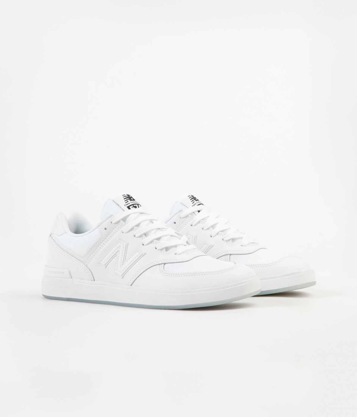 New Balance All Coasts 574 Shoes White White | Flatspot
