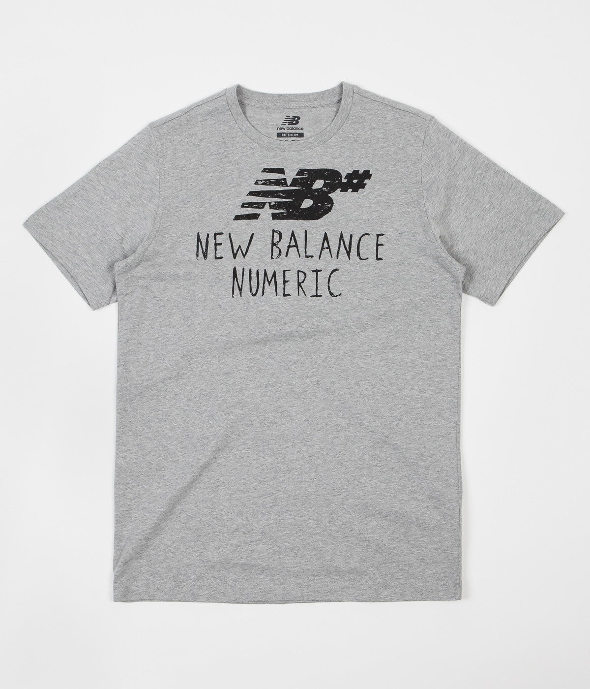 new balance t shirt wite