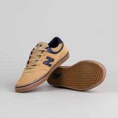 New Balance Numeric Quincy 254 Shoes - Tan / Navy