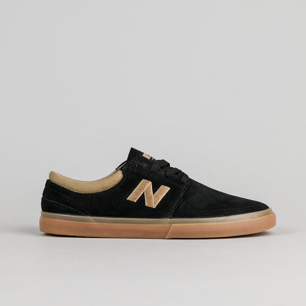 New Balance Numeric Brighton 344 Shoes - Black / Gum