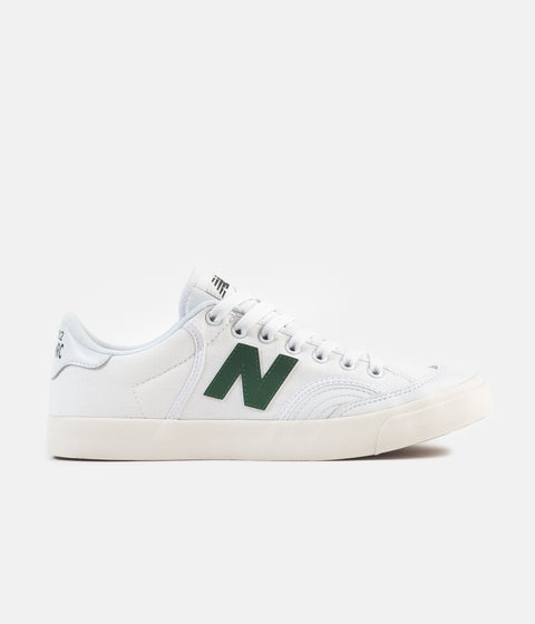New Balance Numeric 212 Shoes - White / Green
