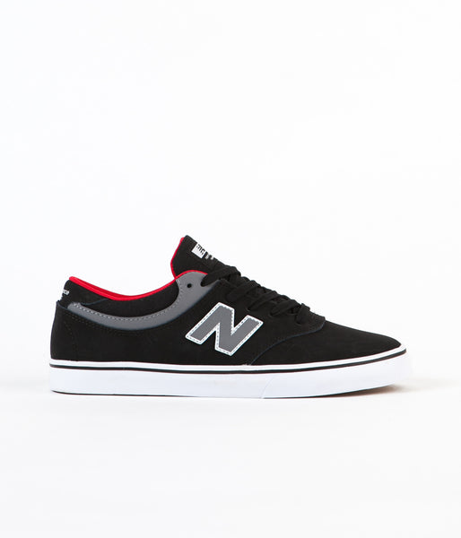 New Balance Numeric Quincy 254 Shoes - Black / Gunmetal