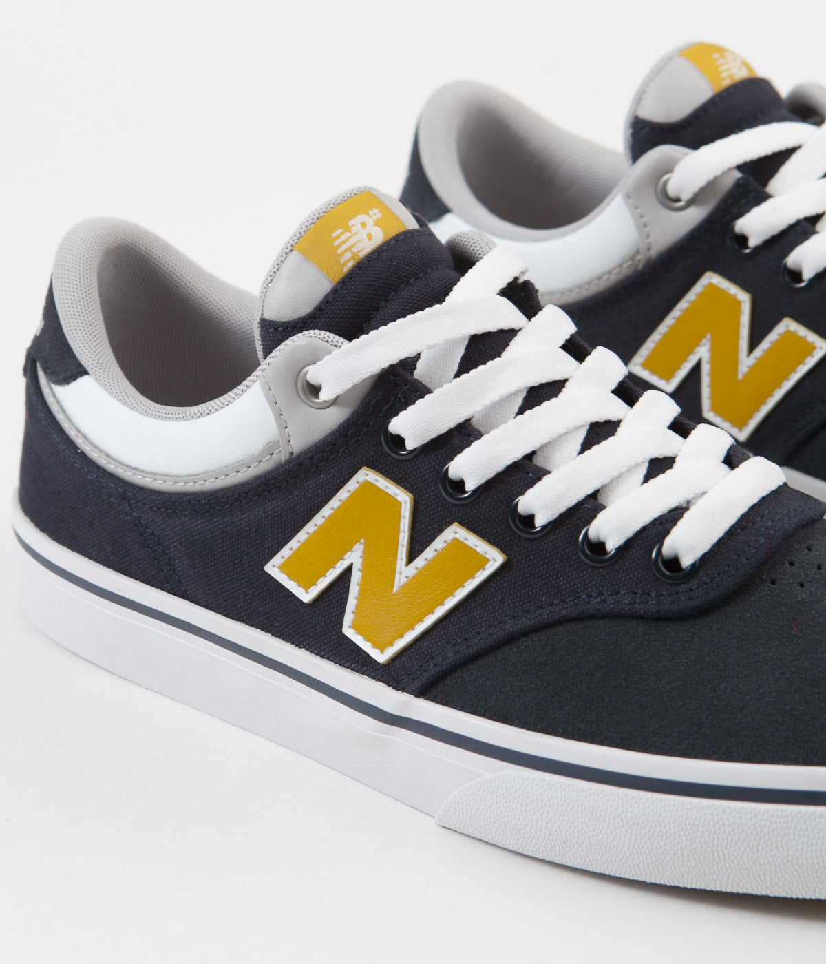 New Balance Numeric 255 Shoes - Navy / Gold