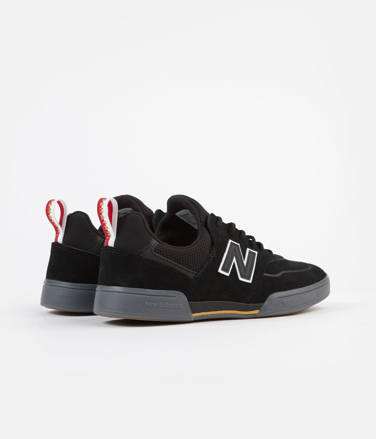 New Balance Numeric 288S Shoes - Black / Grey