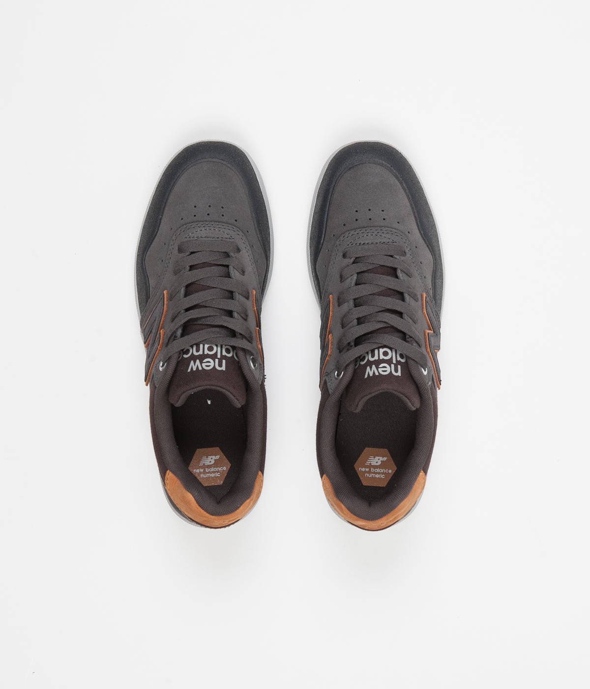 New Balance Numeric 288 Shoes - Grey / Rust