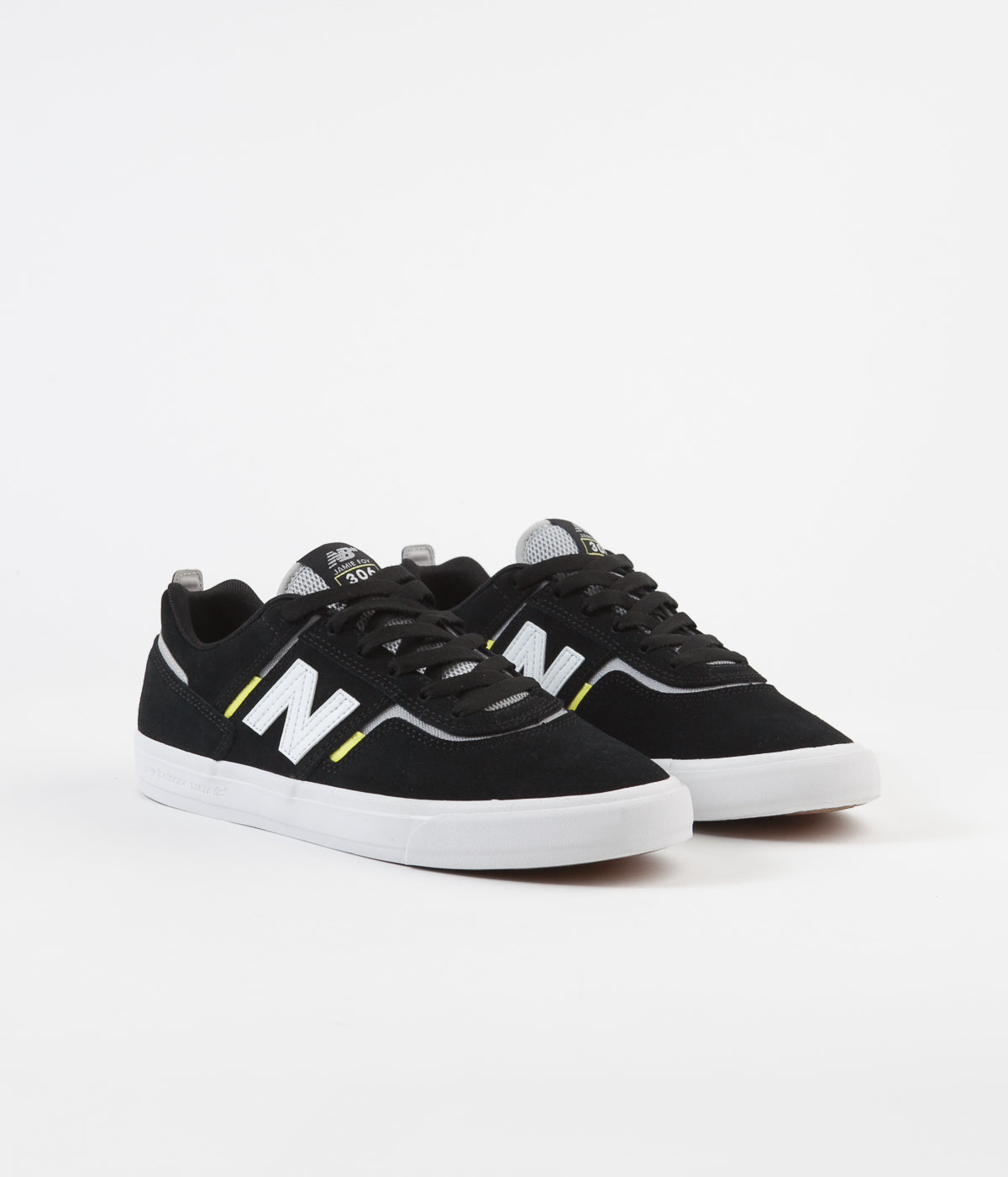 New Balance Numeric 306 Jamie Foy Shoes - Black / White