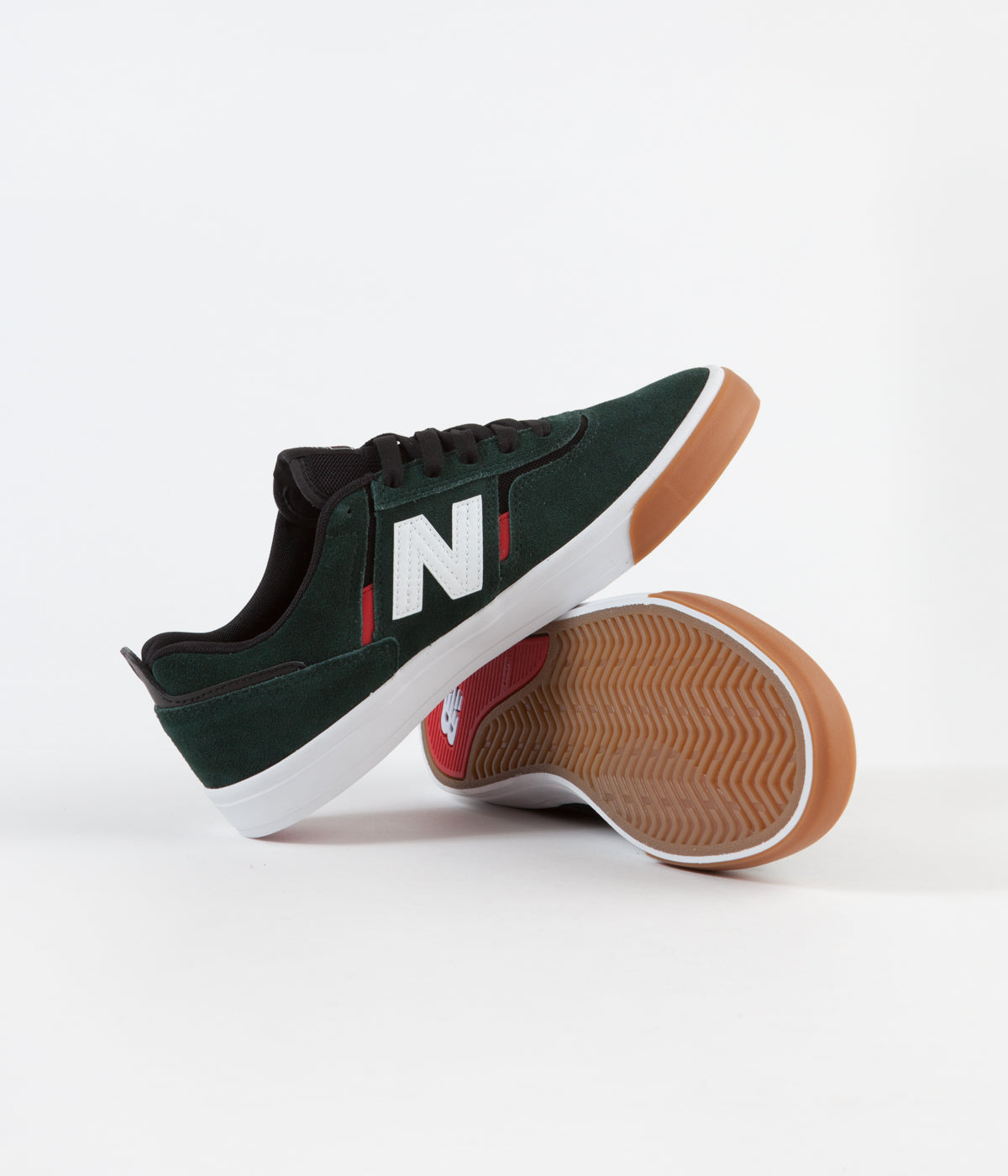 New Balance Numeric 306 Jamie Foy Shoes - Green / Red