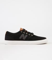 New Balance Numeric 345 Shoes - Black / Brown