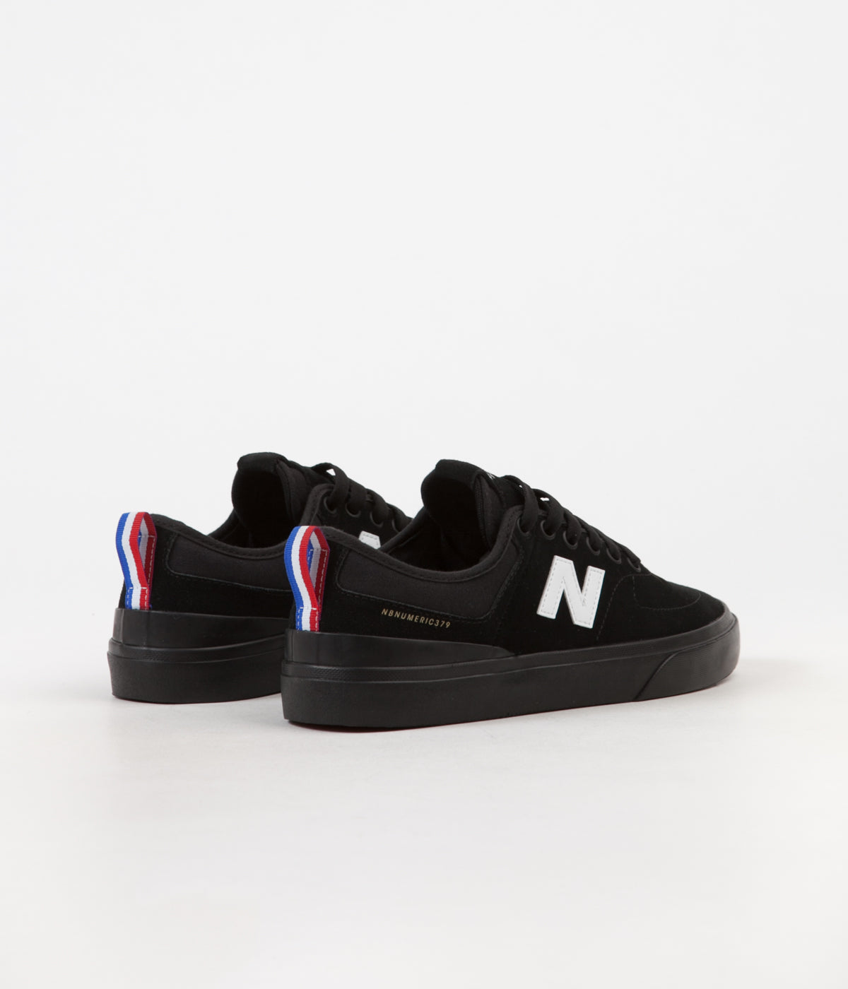 New Balance Numeric 379 Shoes - Black / White - Flo Mirtain