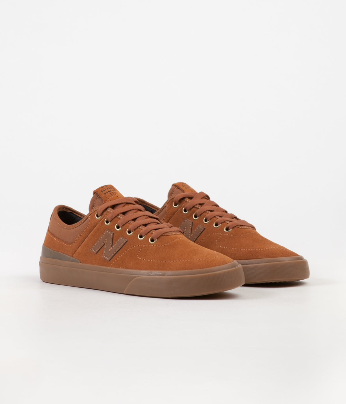 New Balance Numeric 379 Shoes - Brown / Gum - Jake Hayes
