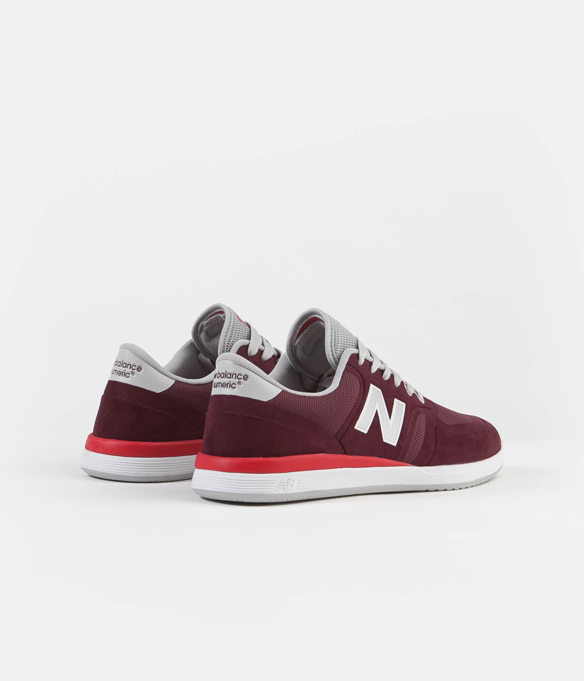 New Balance Numeric 420 Shoes - Burgundy / Red