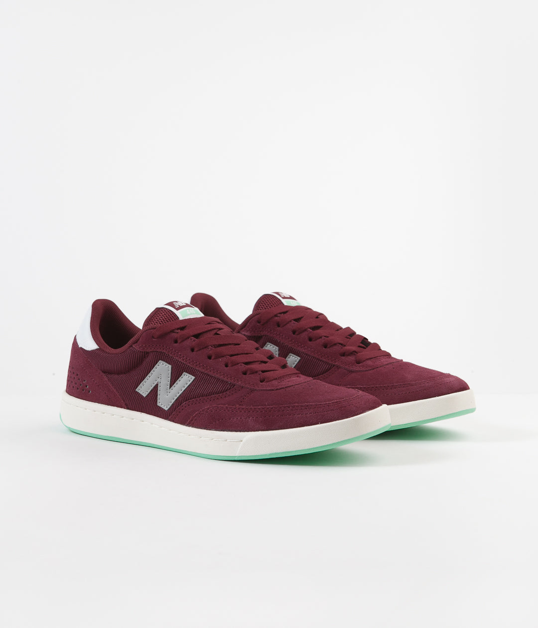 New Balance Numeric 440 Shoes - Burgundy / Grey
