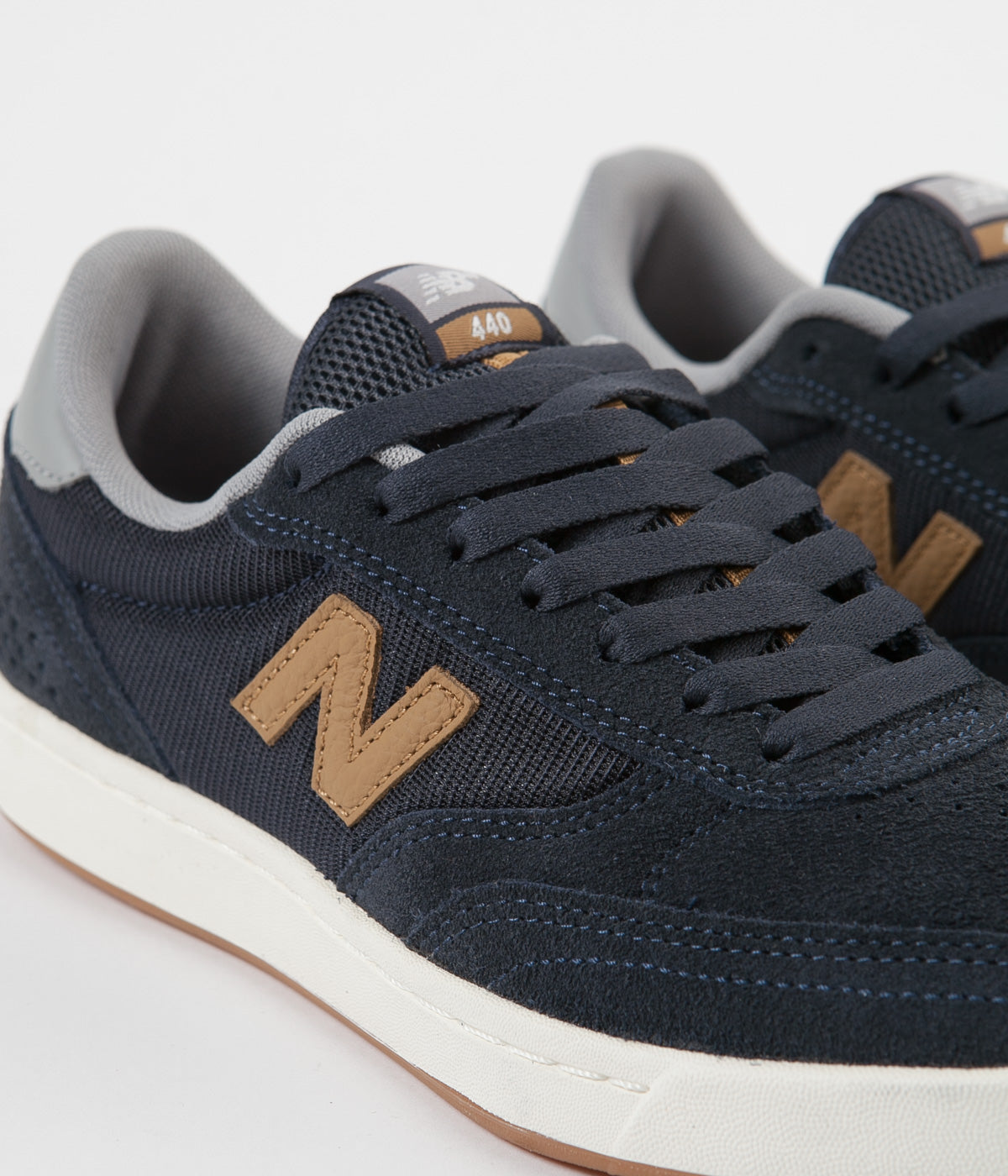 New Balance Numeric 440 Shoes - Navy / Brown