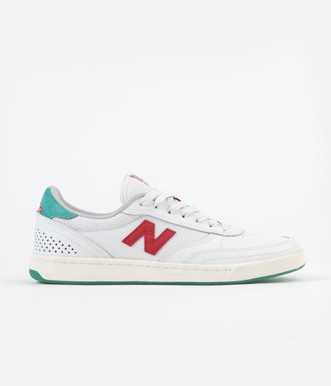 New Balance Numeric 440 Tom Knox Shoes - White / Red